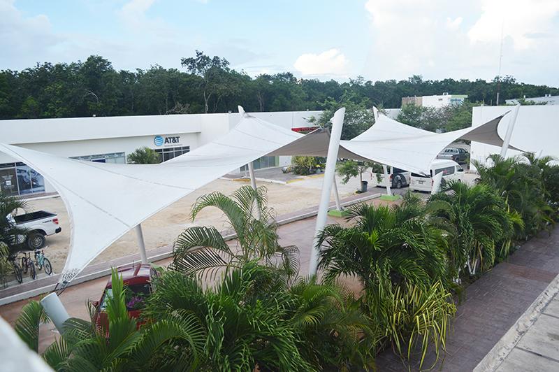 Plaza Andador Tulum Arquitectura